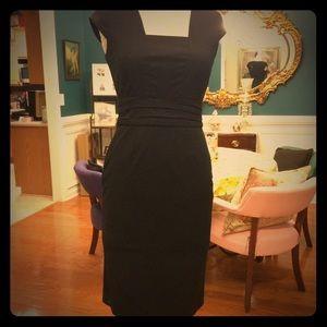 Banana Republic Factory slim black dress